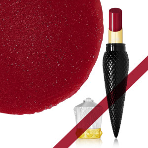 CHRISTIAN LOUBOUTIN LIPSTICK Sheer Voile Lip Colour - Rouge Louboutin