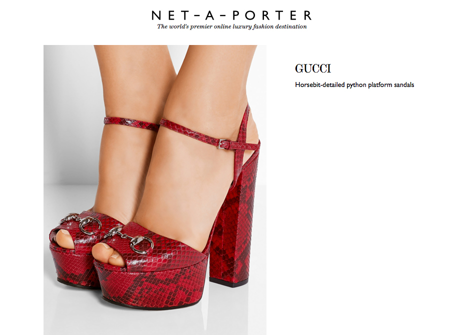 gucci sandals python behind my glasses blog net a porter