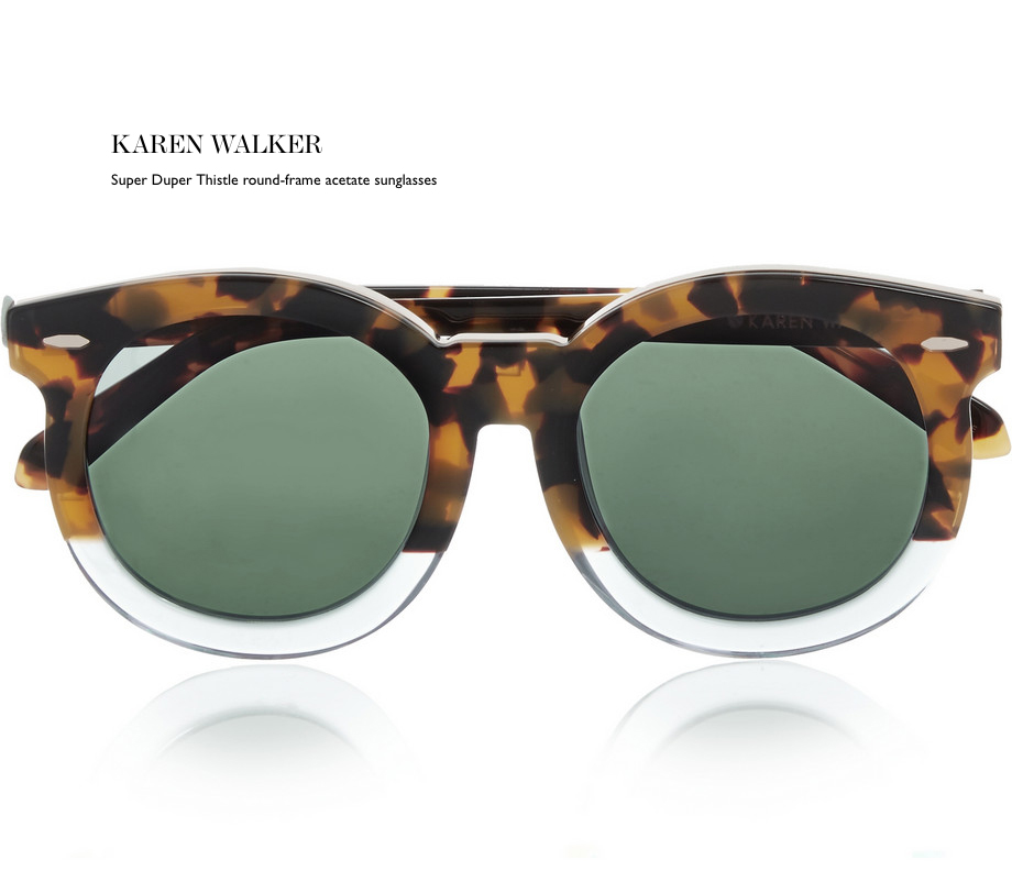 karen walker sunglasses 2015 2016