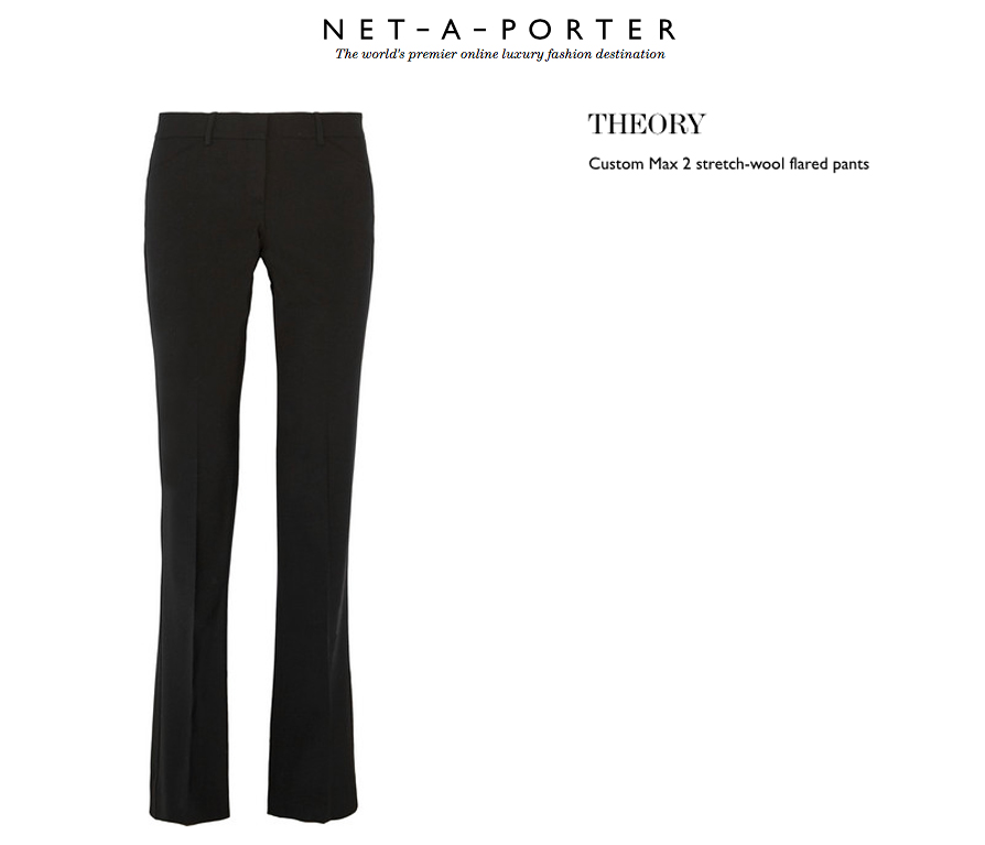 net a porter sweater pants theory
