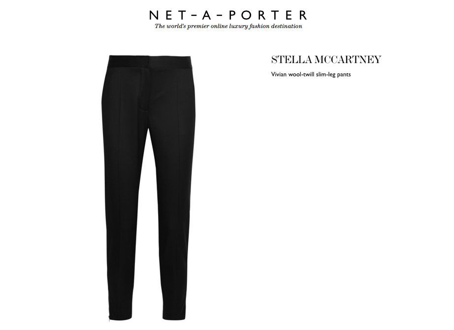 stella mccartney pants behind my glasses blog net a porter