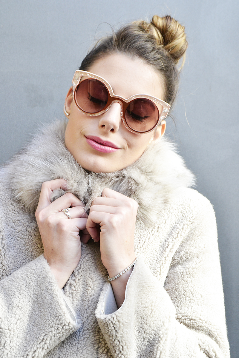 2 behindmyglasses.com giulia de martin fendi paradeyes sunglasses in pink fall winter 2015 2016
