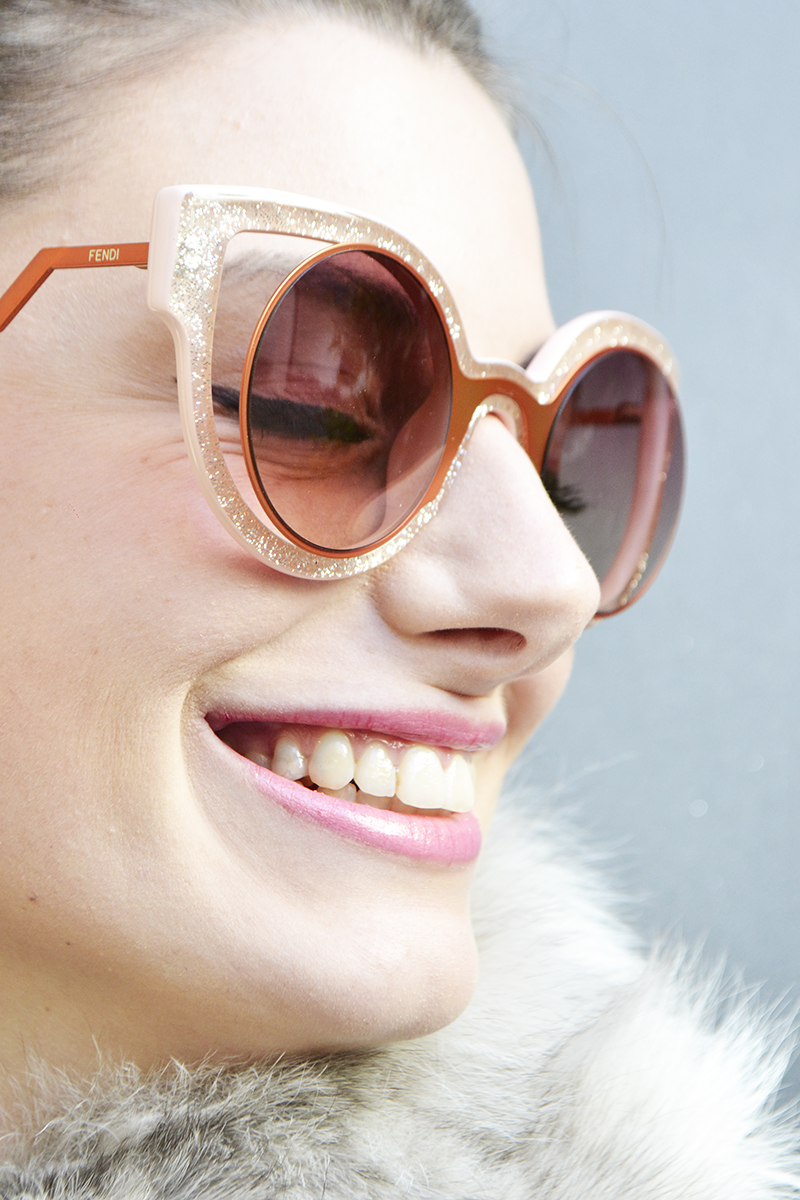 4 behindmyglasses.com giulia de martin fendi paradeyes sunglasses in pink fall winter 2015 2016