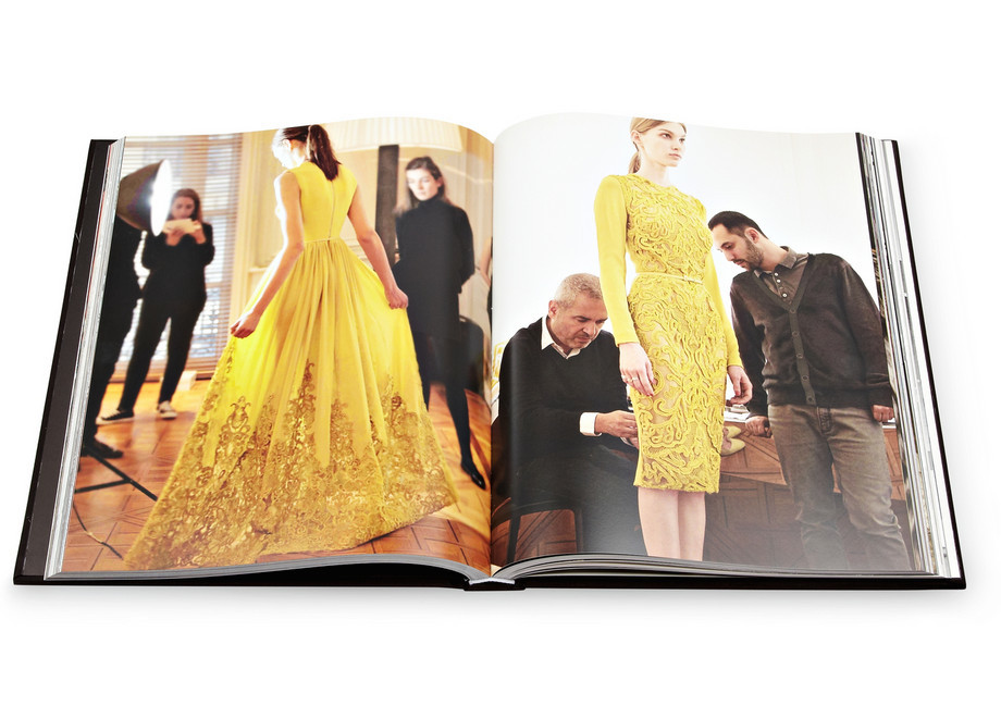 Caffee Table Books Elie Saab Luxury Images of a Master Fashion Designer by Janie Samet hardcover book 1
