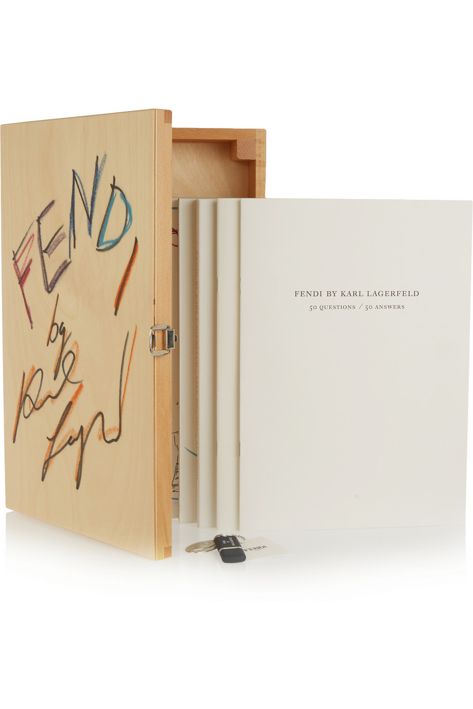 Caffee Table Books Karl Lagerfeld Fendi 50 Years 1