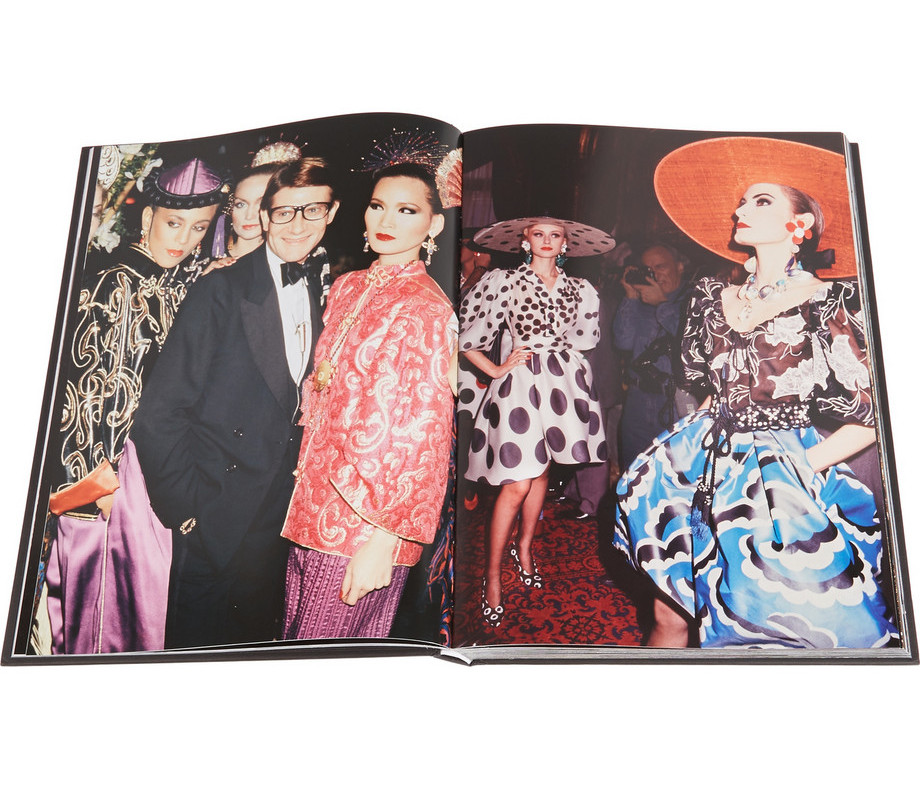 Caffee Table Books Roxanne Lowit Photographs Yves Saint Laurent hardcover book