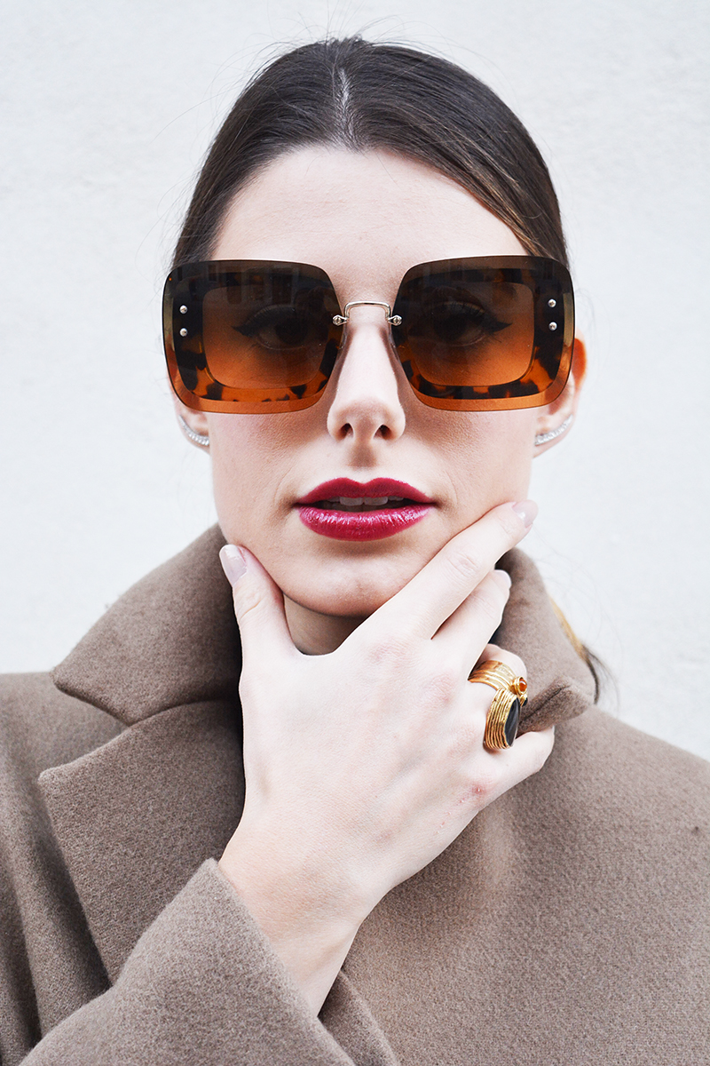 d5de7caaceca 1 behindmyglasses.com giulia de maetin miu miu sunglasses fall winter 2015  2016 eyewear collection