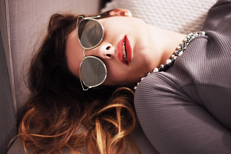 1 giulia de martin behindmyglasses abstract silver mirror lenses dior sunglasses so real eyewear collection fall winter 2015 2016