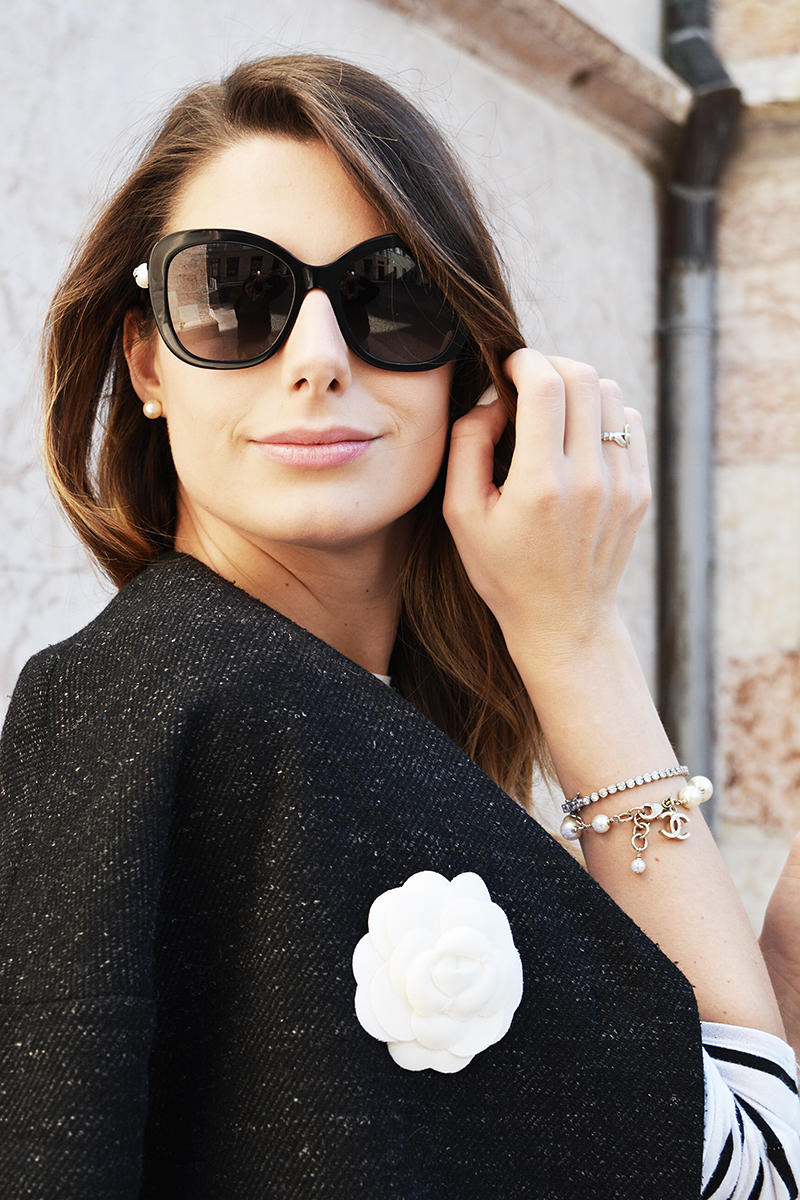 12 chanel fall winter pearls sunglasses black cat eye 2015 2016 nina ricci bag behindmyglasses.com giulia de martin