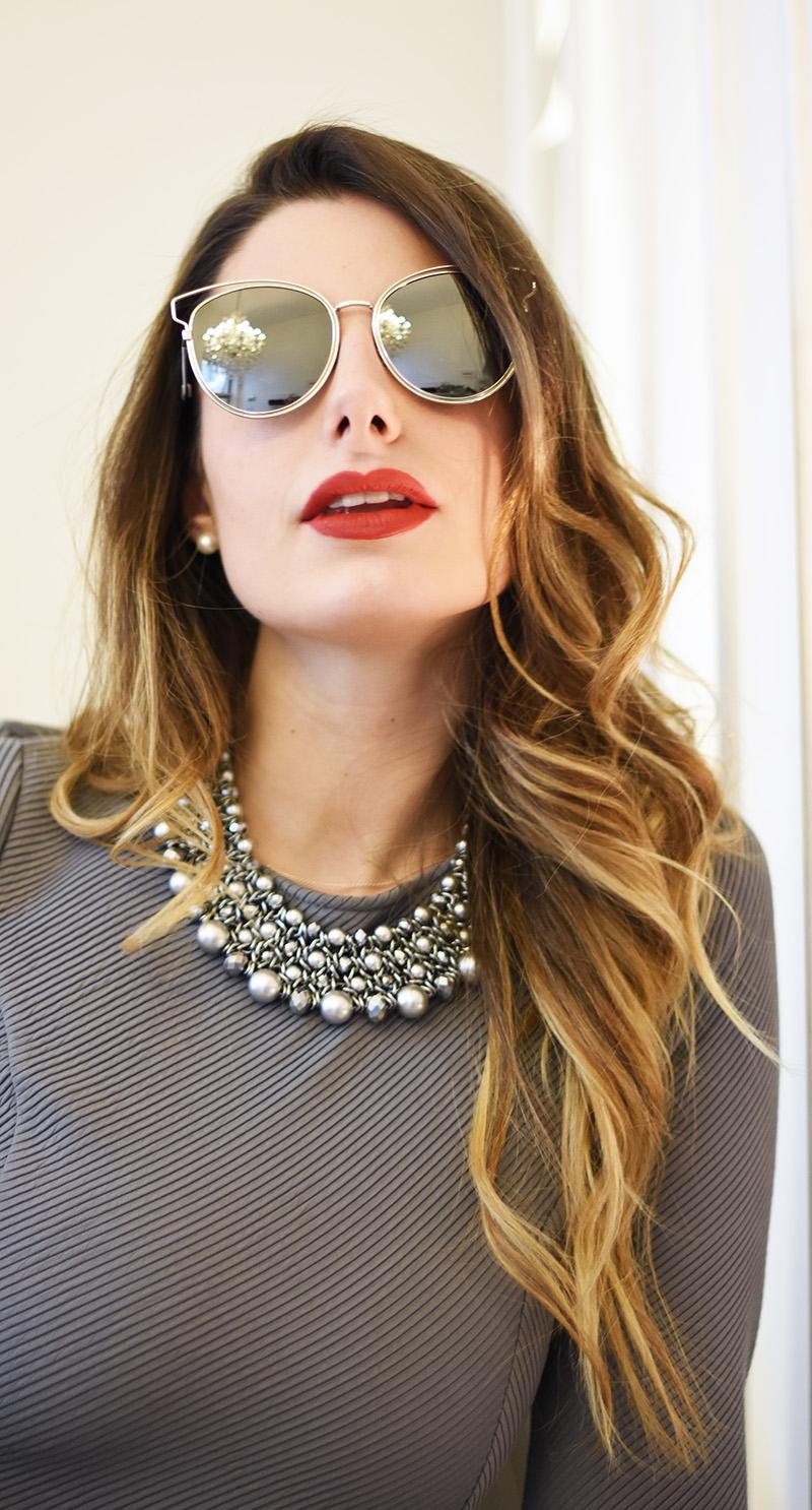 Dior Eyeglass Frames 2016 : CHRISTIAN DIOR MIRROR SILVER SUNGLASSES
