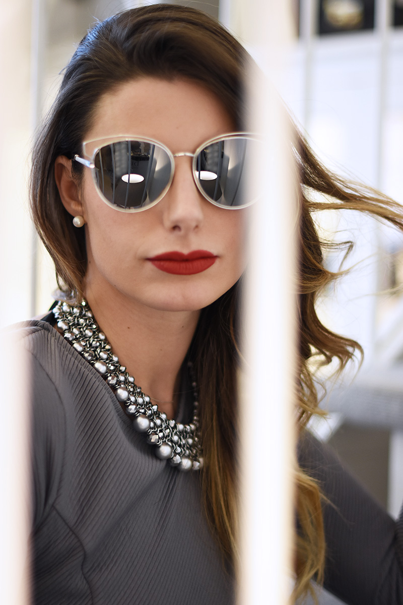 6 giulia de martin behindmyglasses abstract silver mirror lenses dior sunglasses so real eyewear collection fall winter 2015 2016