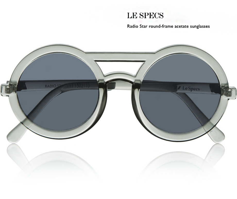 1 le specs sunglasses behindmyglasses.com giulia de martin how to wear them net a porter