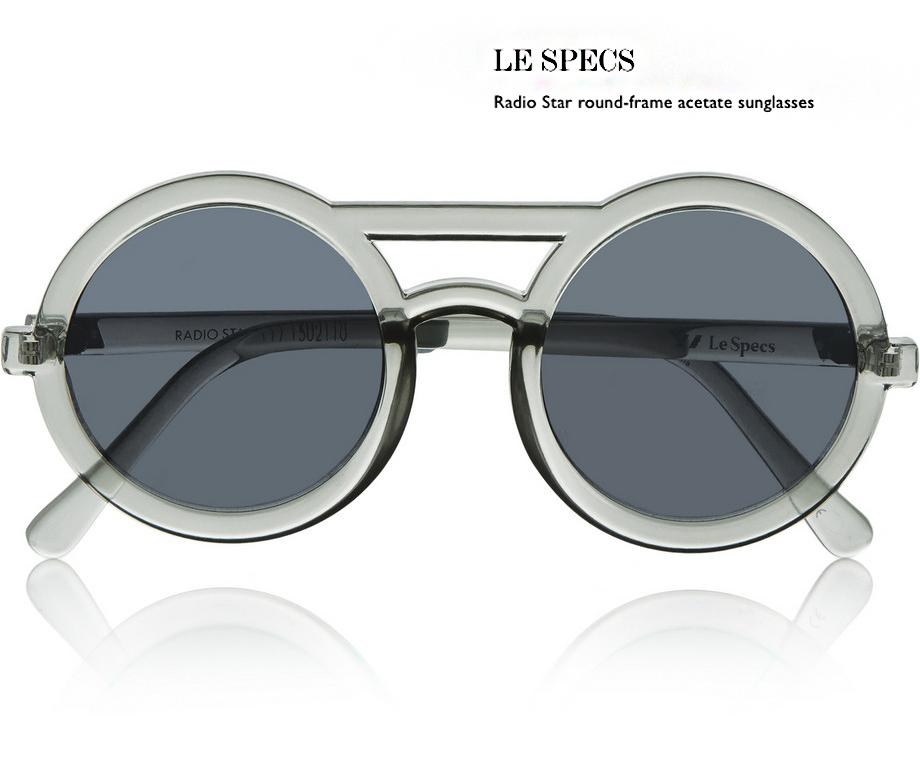 1 le specs sunglasses behindmyglasses.com giulia de martin how to wear them net a porter