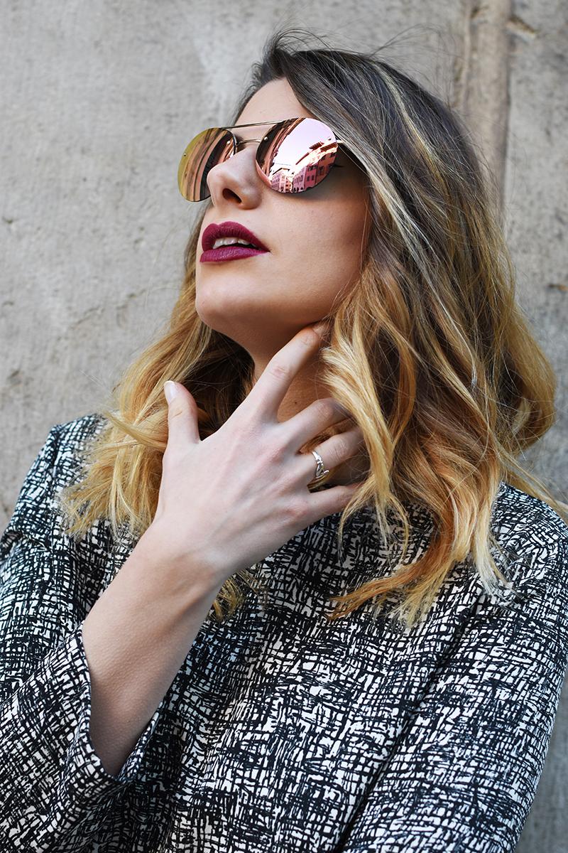 1 luna rossa pink mirror lenses round prada sunglasses giulia de martin behindmyglasses.com