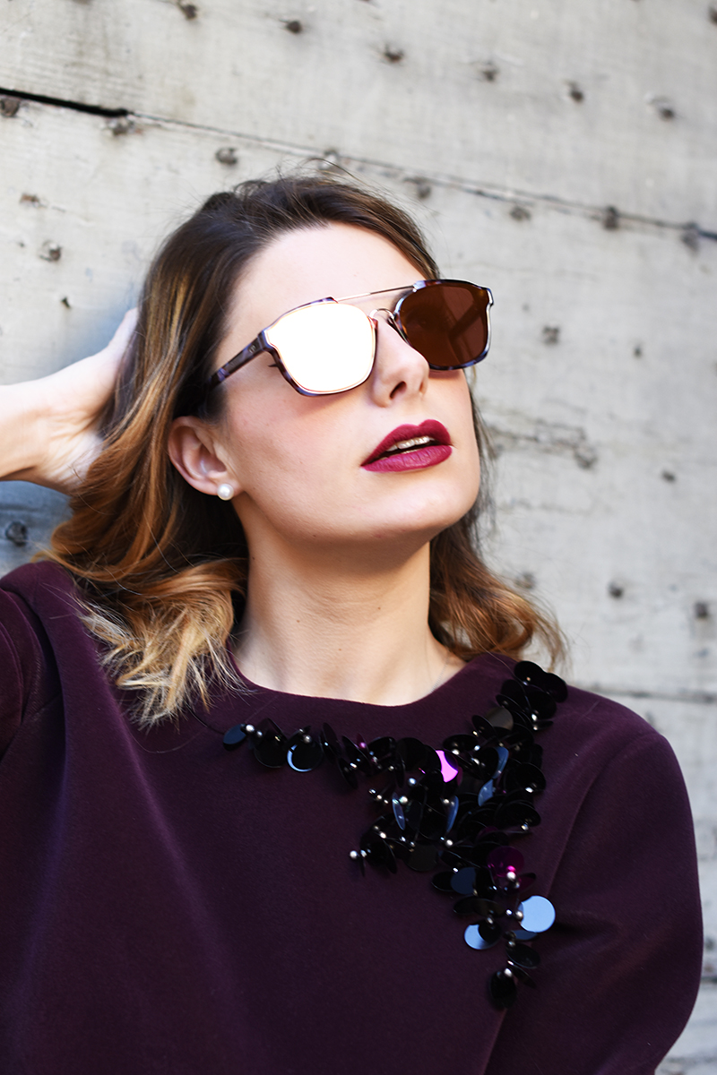 2 dior mirror lenses sunglasses fall winter 2016 2015 abstract tortoise giulia de martin behindmyglasses.com