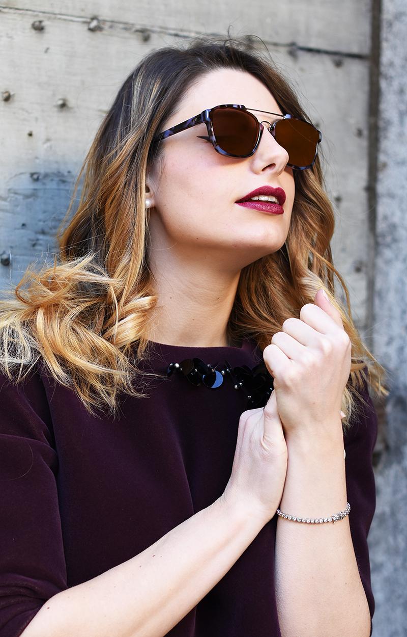 5 dior mirror lenses sunglasses fall winter 2016 2015 abstract tortoise giulia de martin behindmyglasses.com
