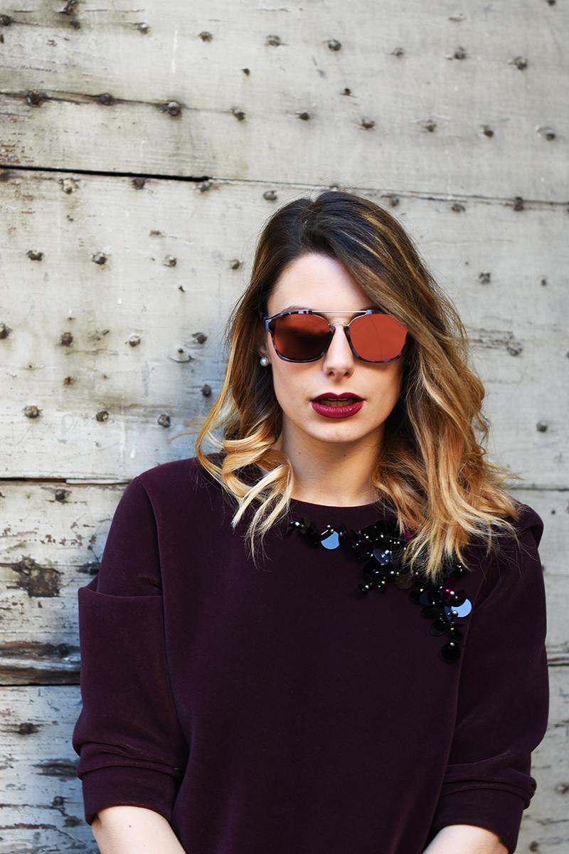 7 dior mirror lenses sunglasses fall winter 2016 2015 abstract tortoise giulia de martin behindmyglasses.com