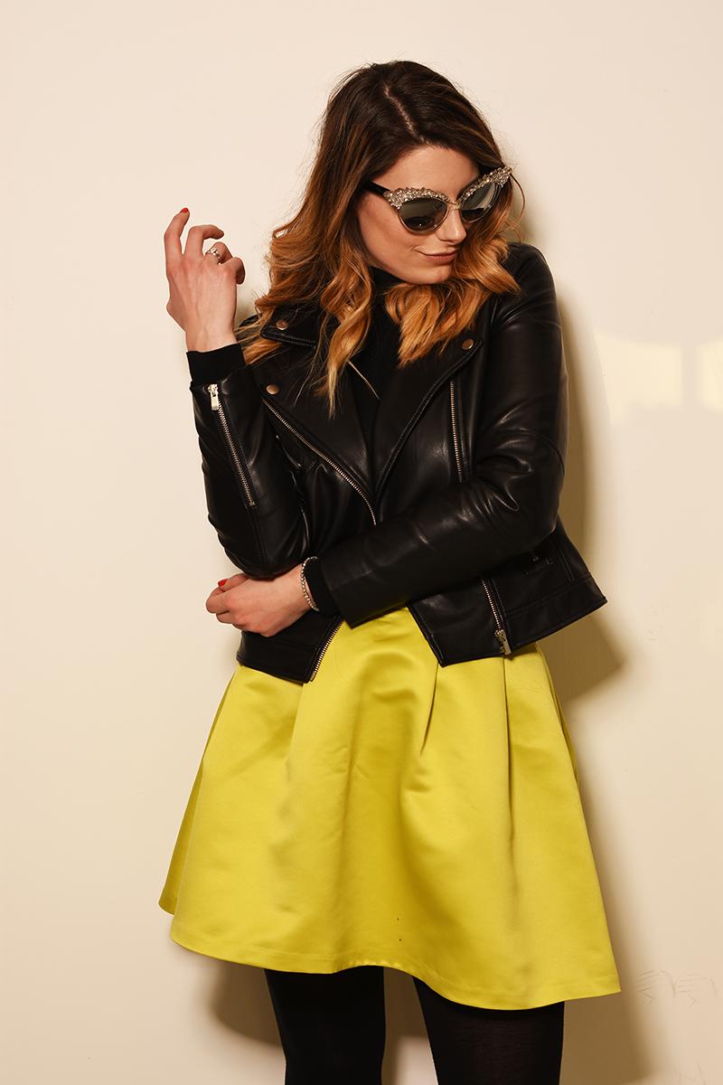 7 dsquared sunglasses mango jacket desigual spring summer giulia de martin Marianna Zanetti behindmyglasses