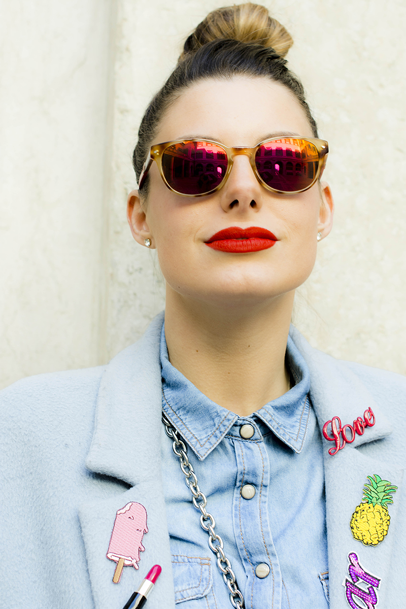 2 giulia de martin behindmyglasses blog maui sunglasses mirro lenses patches trend platform optic cover