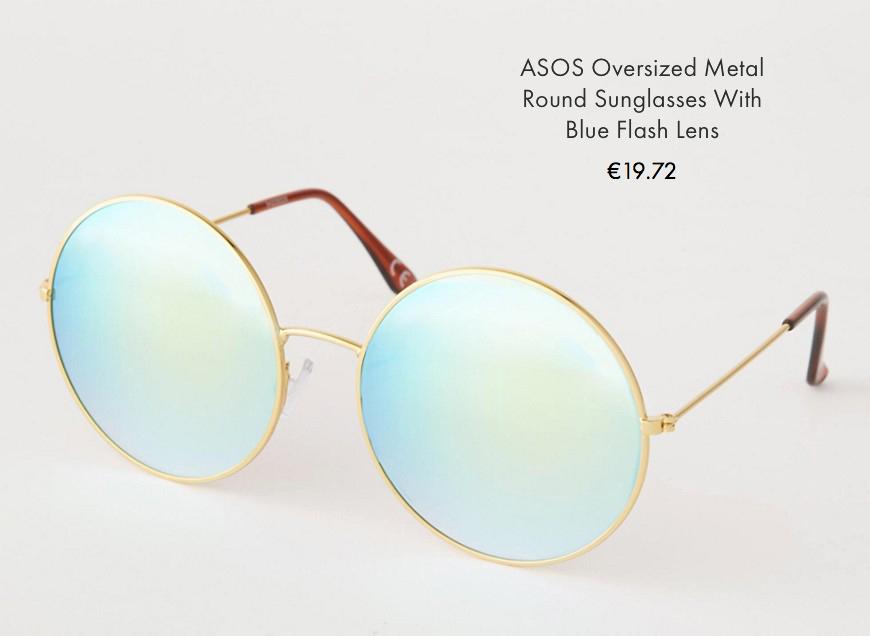 1 asos sunglasses spring summer 2016 behindmyglasses.com giulia de martin round trend frames eyewear sunglasses