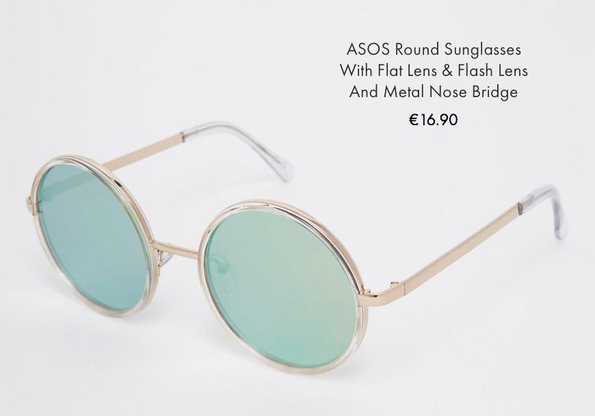 2 asos sunglasses spring summer 2016 behindmyglasses.com giulia de martin round trend frames eyewear sunglasses