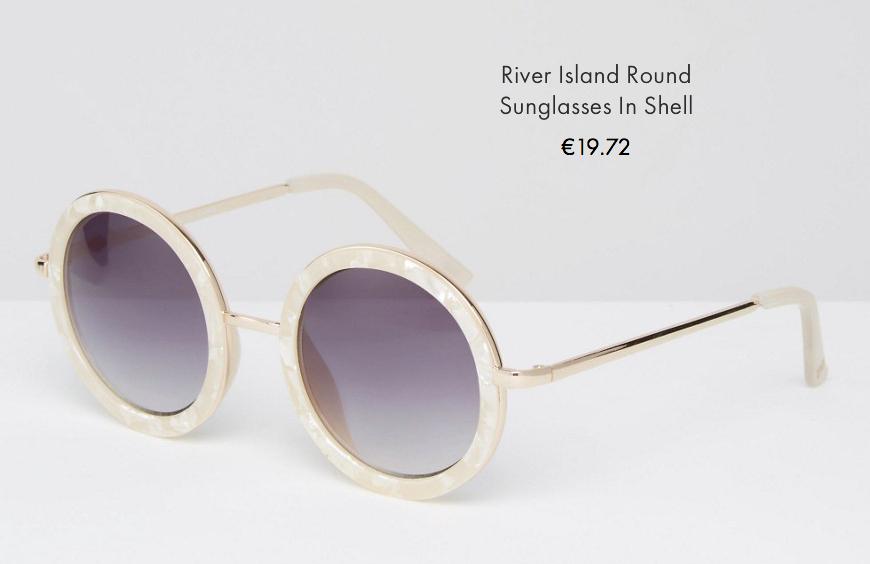 4 asos sunglasses spring summer 2016 behindmyglasses.com giulia de martin round trend frames eyewear sunglasses
