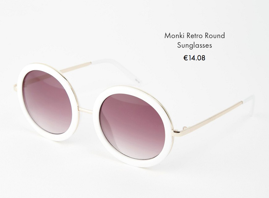 6 asos sunglasses spring summer 2016 behindmyglasses.com giulia de martin round trend frames eyewear sunglasses