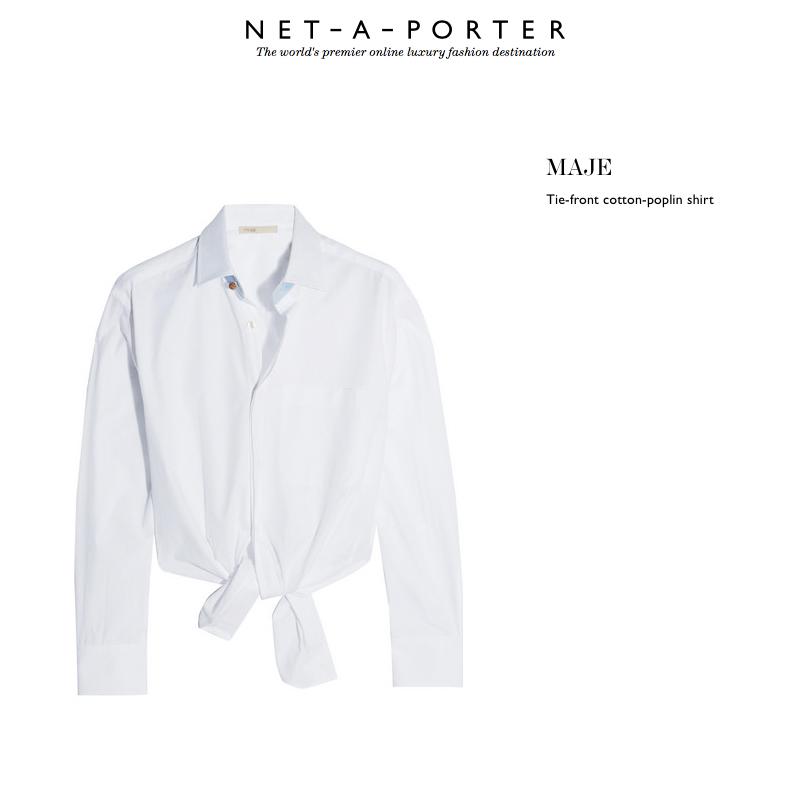 maje shirt white sheriff and cherry sunglasses net a porter pink summer sunnies eyewear