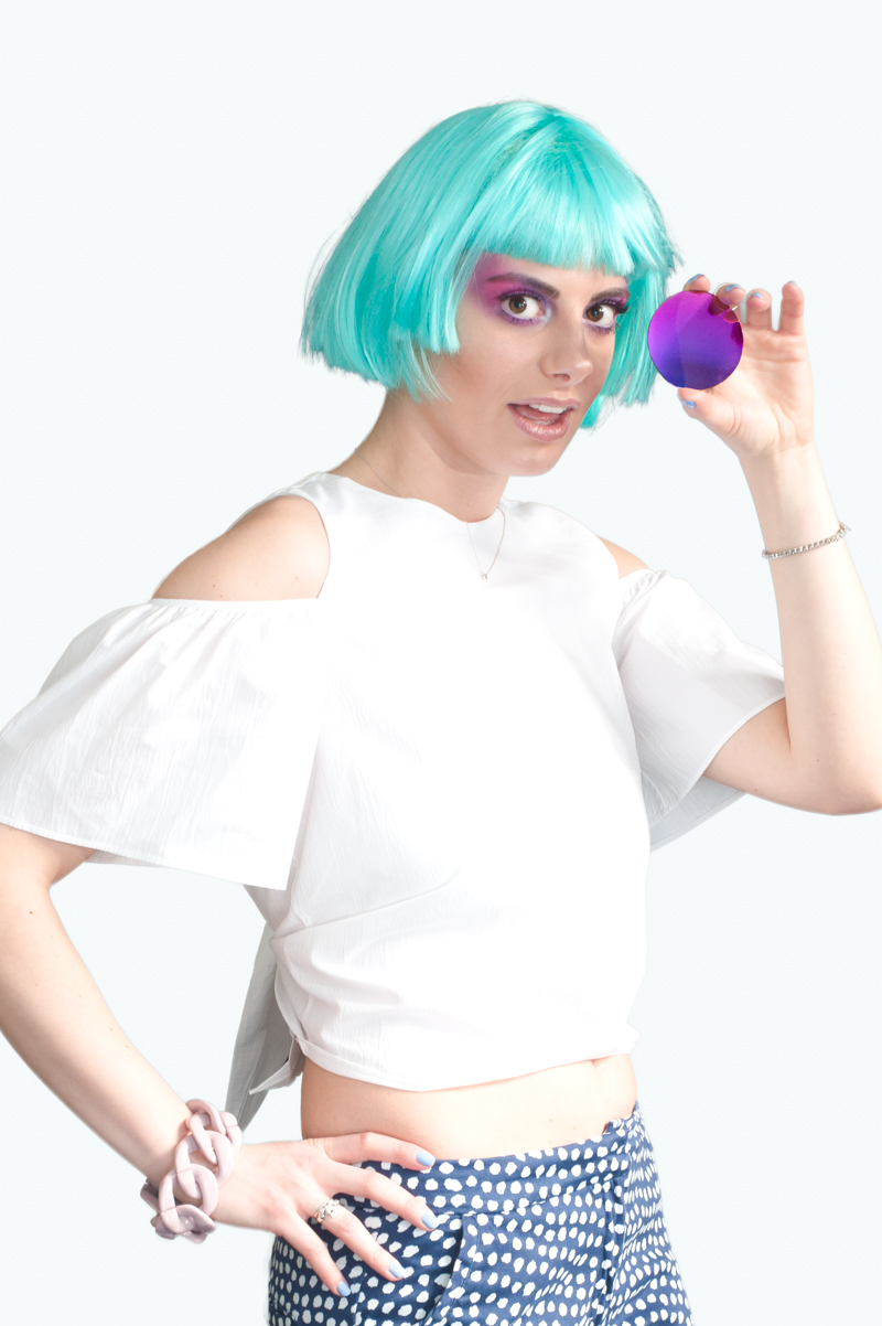 Essilor Lenses Giulia De Martin behindmyglasses mirror pink wig platform optic may zara top crop top mango crop top-1