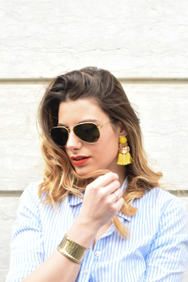 giulia de martin tavat eyewear sunglasses spring summer 2016 american eyewear USA made in italy behindmyglasses.com blog blogger sunglasses sunnies eyewear h&m skirt earrings-12