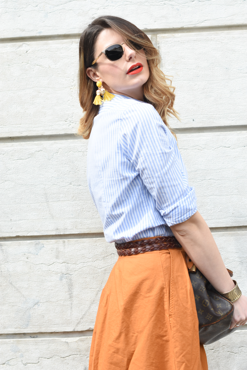 giulia de martin tavat eyewear sunglasses spring summer 2016 american eyewear USA made in italy behindmyglasses.com blog blogger sunglasses sunnies eyewear h&m skirt earrings-17