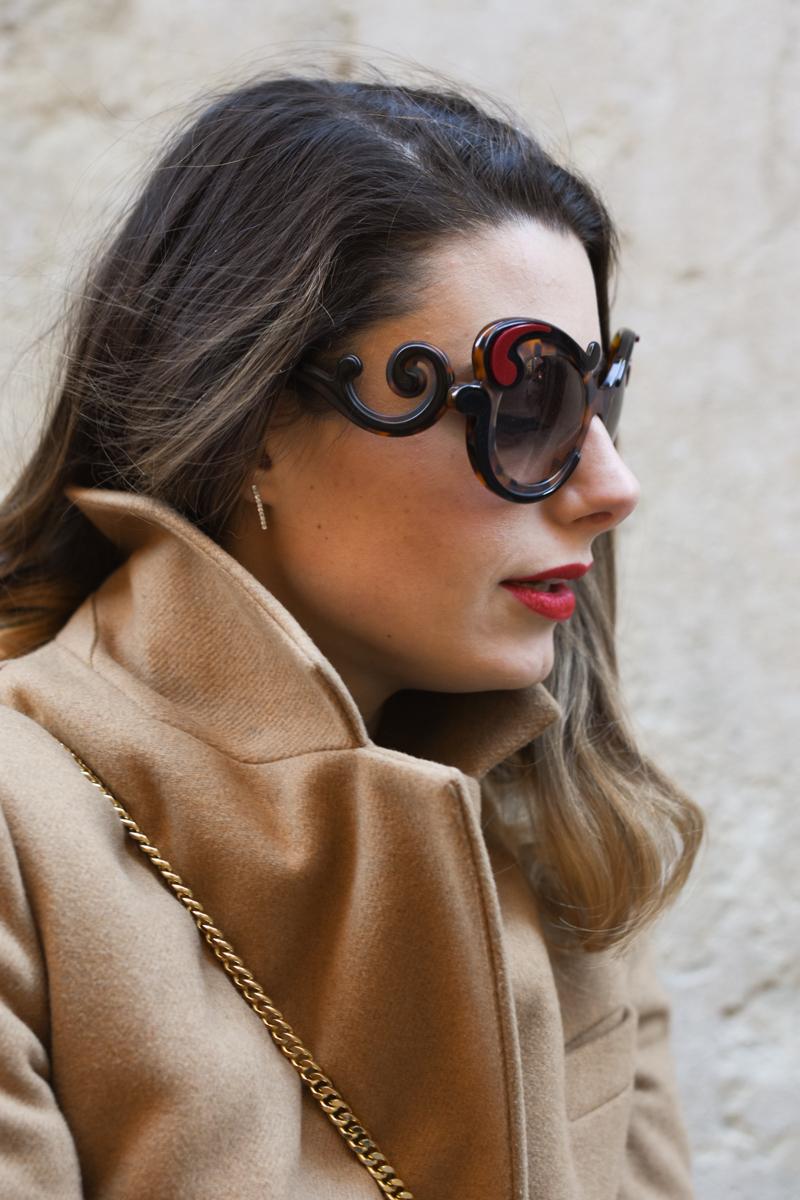 giulia de martin prada baroque sunglasses tortoise SPR23N_EVAJ_F00A7 behindmyglasses.com eyewear blog italian-2