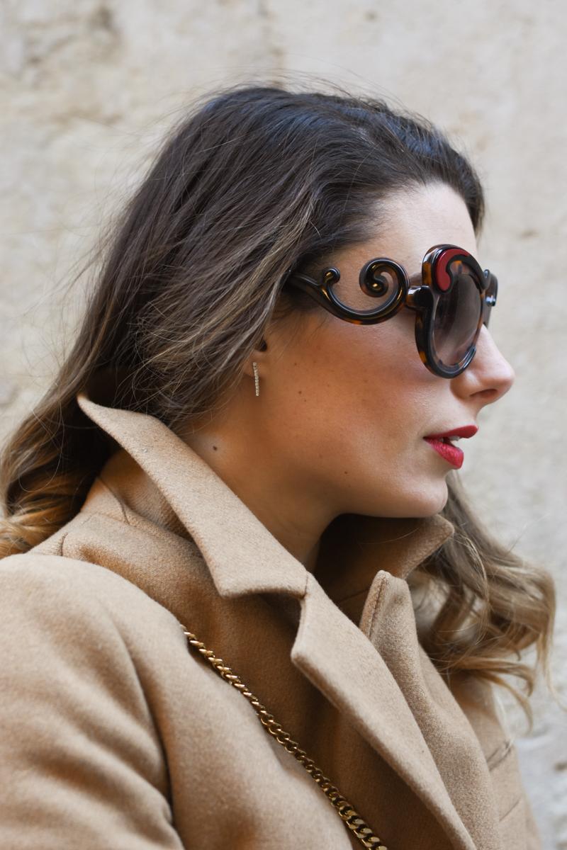 giulia de martin prada baroque sunglasses tortoise SPR23N_EVAJ_F00A7 behindmyglasses.com eyewear blog italian-3