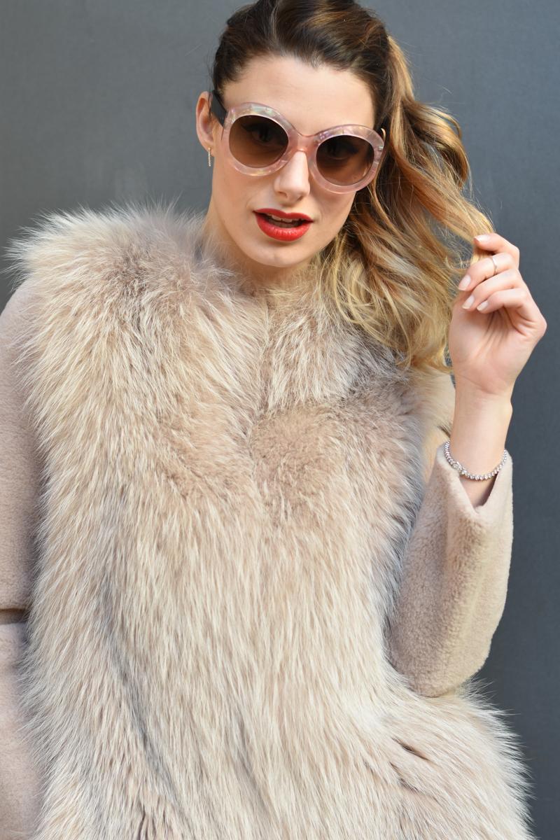 giulia de martin zan zan sunglasses le tabou opal pink blacha fur coat behindmyglasses.com eyewear blog italian-1