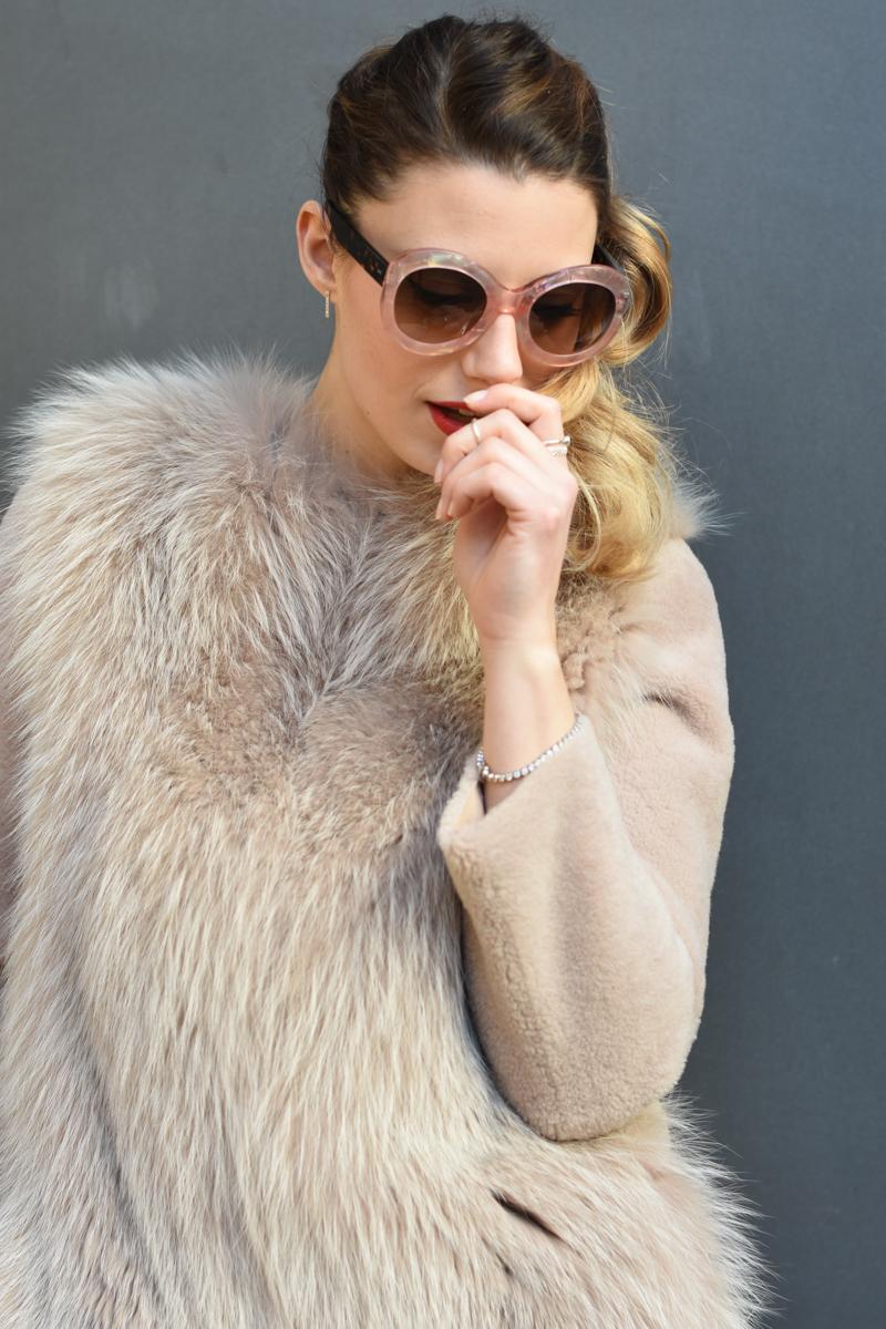 giulia de martin zan zan sunglasses le tabou opal pink blacha fur coat behindmyglasses.com eyewear blog italian-2
