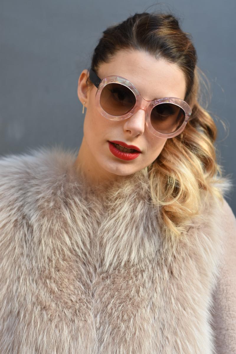 giulia de martin zan zan sunglasses le tabou opal pink blacha fur coat behindmyglasses.com eyewear blog italian-5