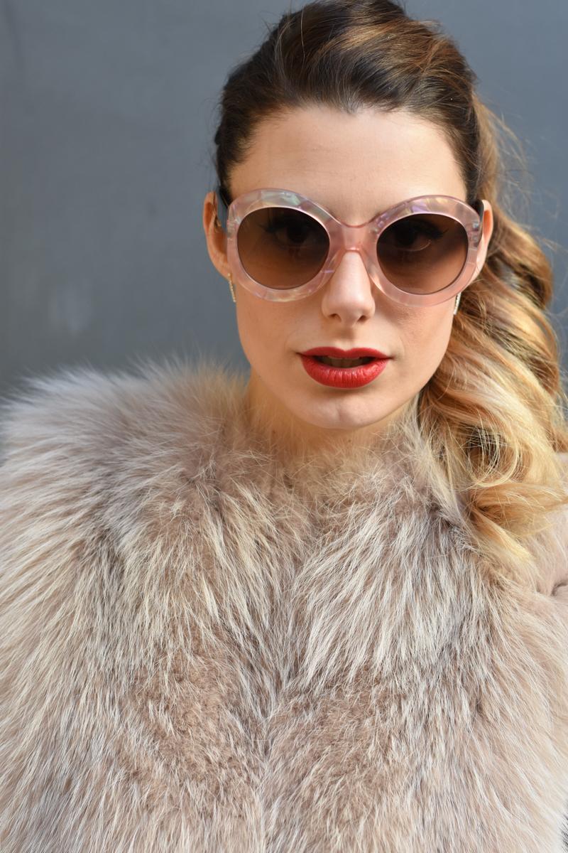 giulia de martin zan zan sunglasses le tabou opal pink blacha fur coat behindmyglasses.com eyewear blog italian-6