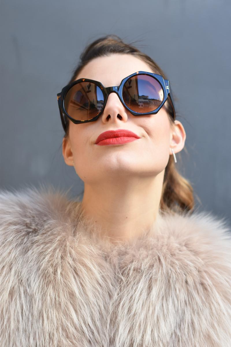 giulia de martin zan zan sunglasses le tabou opal pink blacha fur coat behindmyglasses.com eyewear blog italian-9