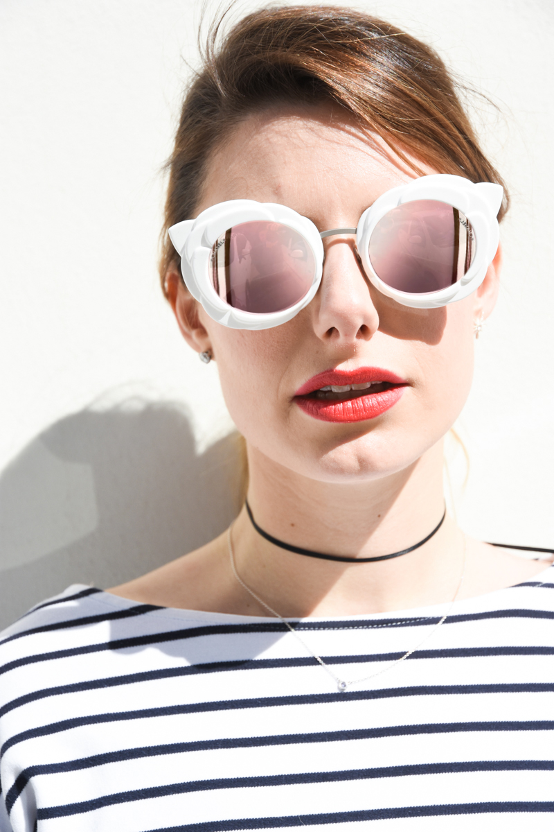 Chanel Flower Eyeglass Frames : CHANEL CAMELLIA SUNGLASSES: FLOWER POWER