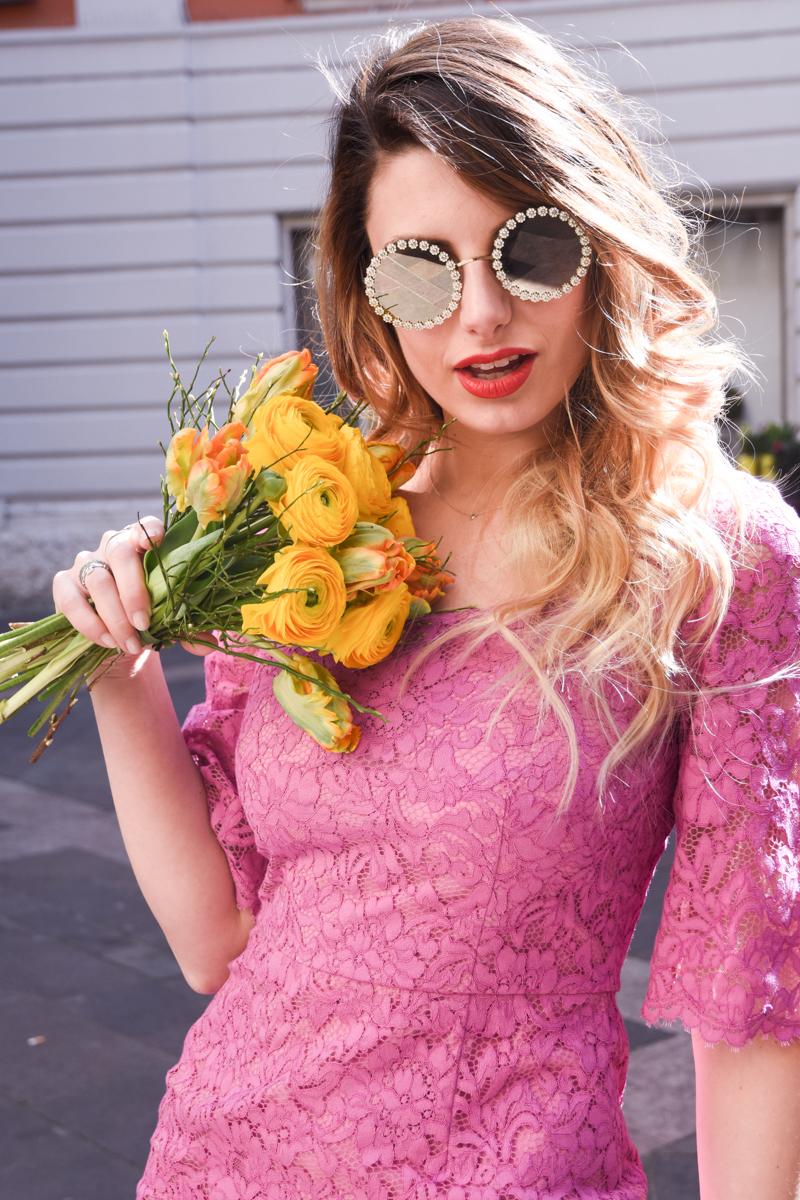 44d83bf8ce3 Dolce   Gabbana Eyewear Mambo Sunglasses