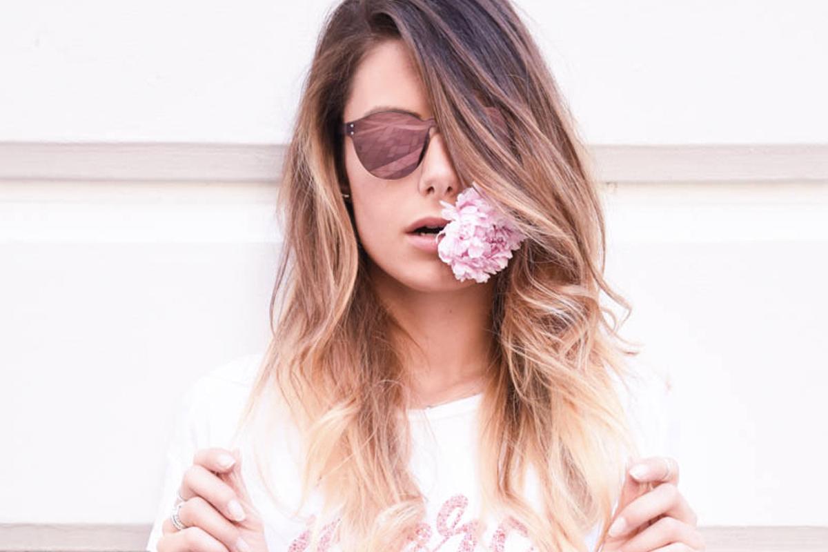 Giulia De Martin Behind My Glasses blog eyewear bauschsunglasses.it baush and lomb sunglasses laser edition mirror lenses pink slider