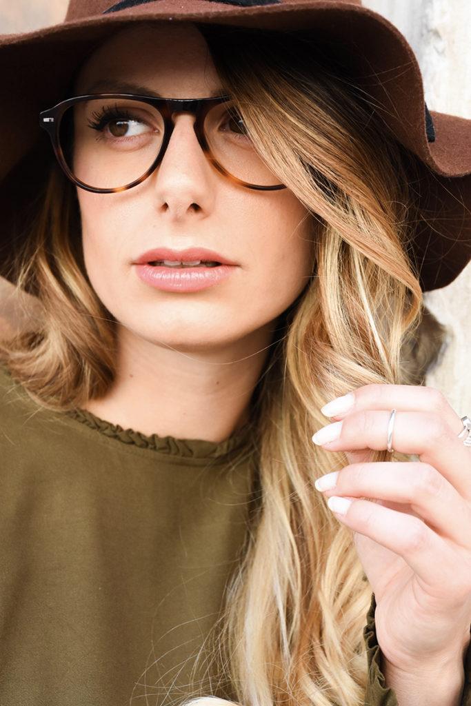 Giulia De Martin valmassoi sunglasses LR-1 eyeglasses behind my glasses silmo paris special tortoise vintage inspired