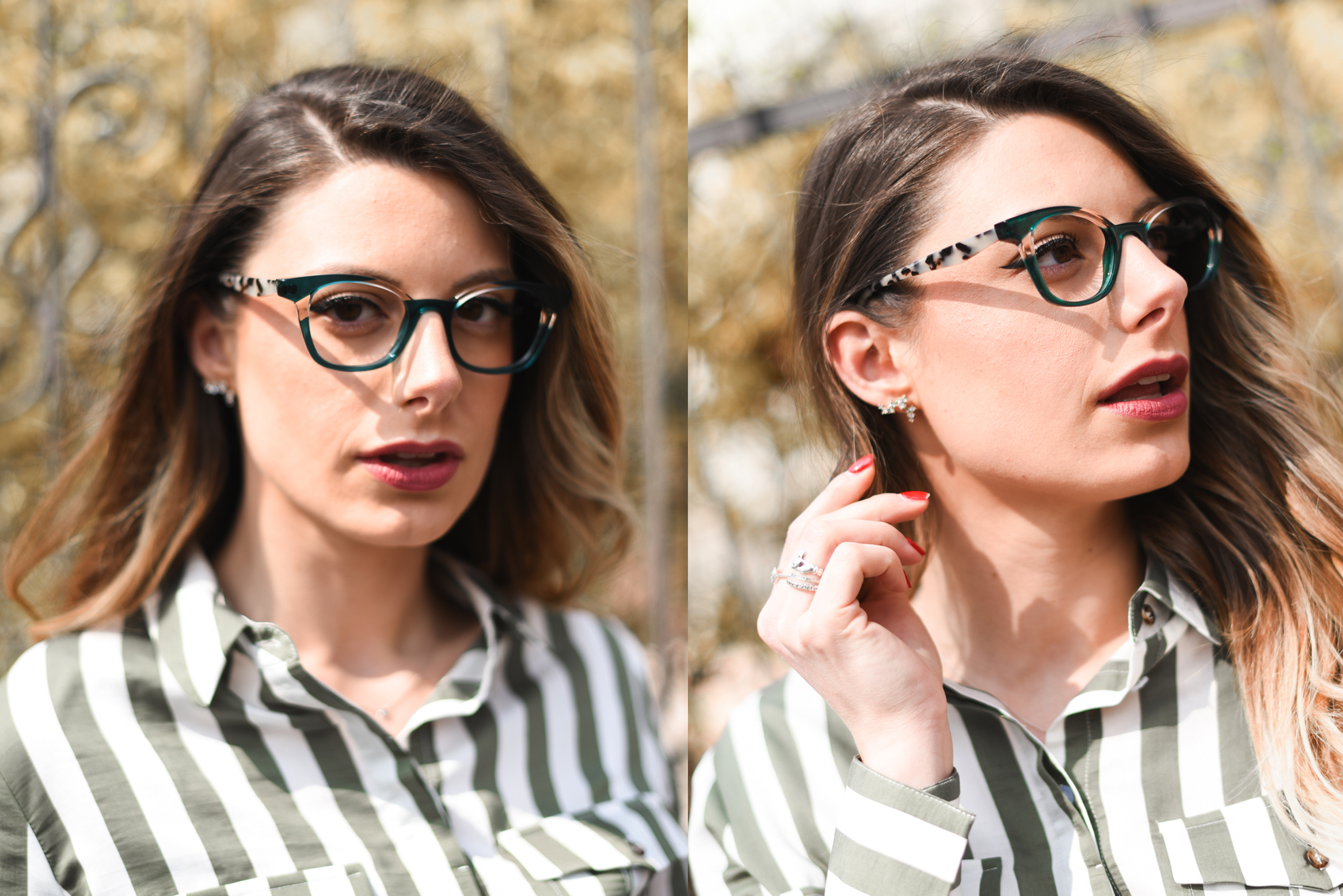 Giulia de martin face a face eyeglasses lunettes 2018 french eyewear BLAST 1-2 blog eyewear behind my glasses influncer blog slider