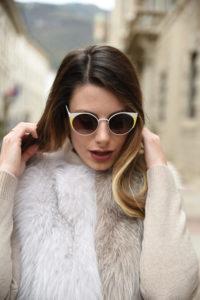giulia de martin behind my glasses eyewear influencer blogger content creator blog sunglasses eyeglasses woow paris sunglasses fall winter 2018 frame woman -5