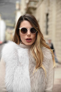 giulia de martin behind my glasses eyewear influencer blogger content creator blog sunglasses eyeglasses woow paris sunglasses fall winter 2018 frame woman -5