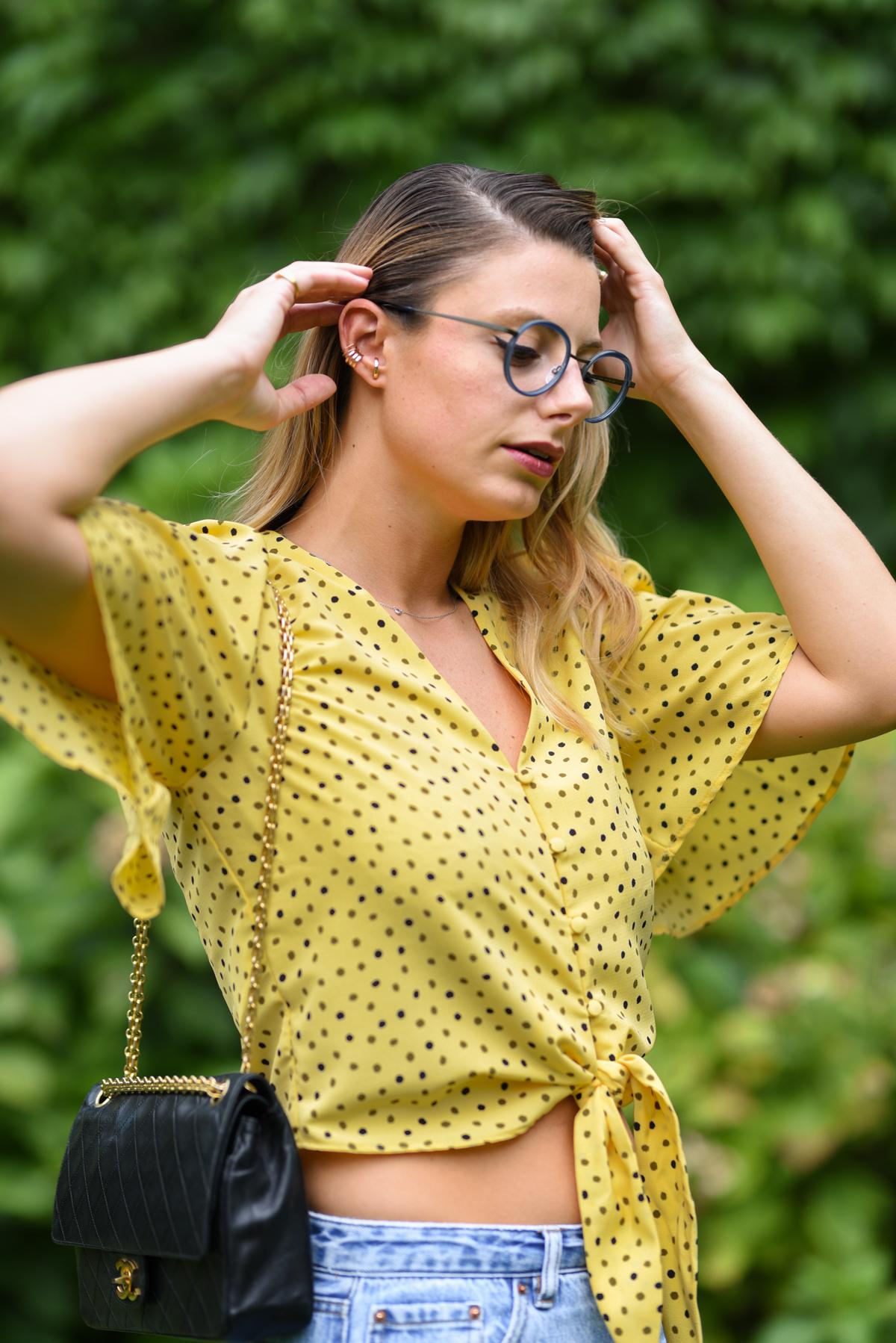 giulia de martin naoned eyeglasses occhiali da sole frame eyewear spring summer 2019 eyewear blog influencer -1