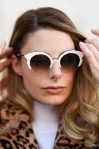 giulia de martin woow sunglasses sunnies occhiali da sole fall winter 2019 2020 behidn my glasses teal green blue occhiali da vista eyewear blog influencer -1