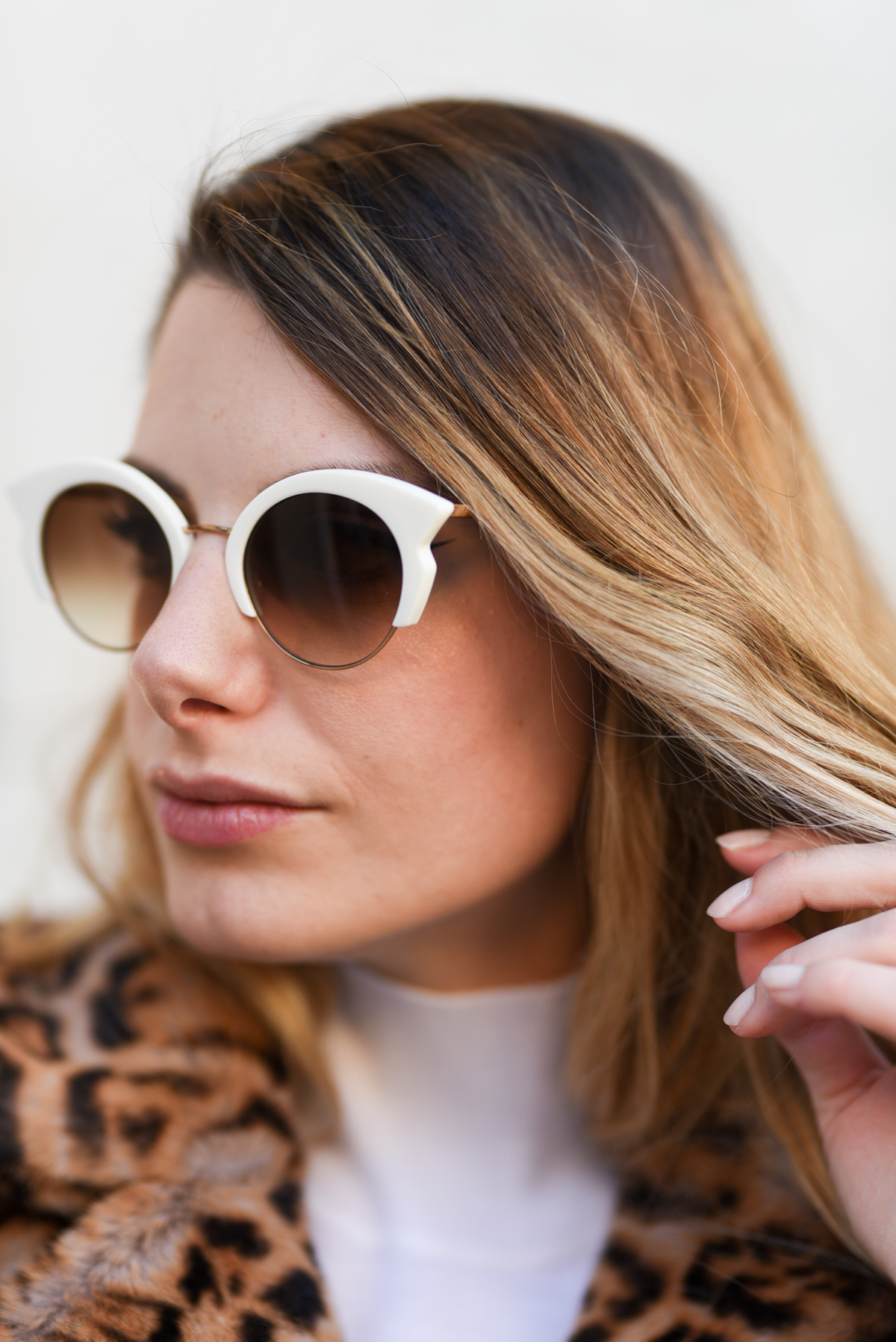 giulia de martin woow sunglasses sunnies occhiali da sole fall winter 2019 2020 behidn my glasses teal green blue occhiali da vista eyewear blog influencer -1