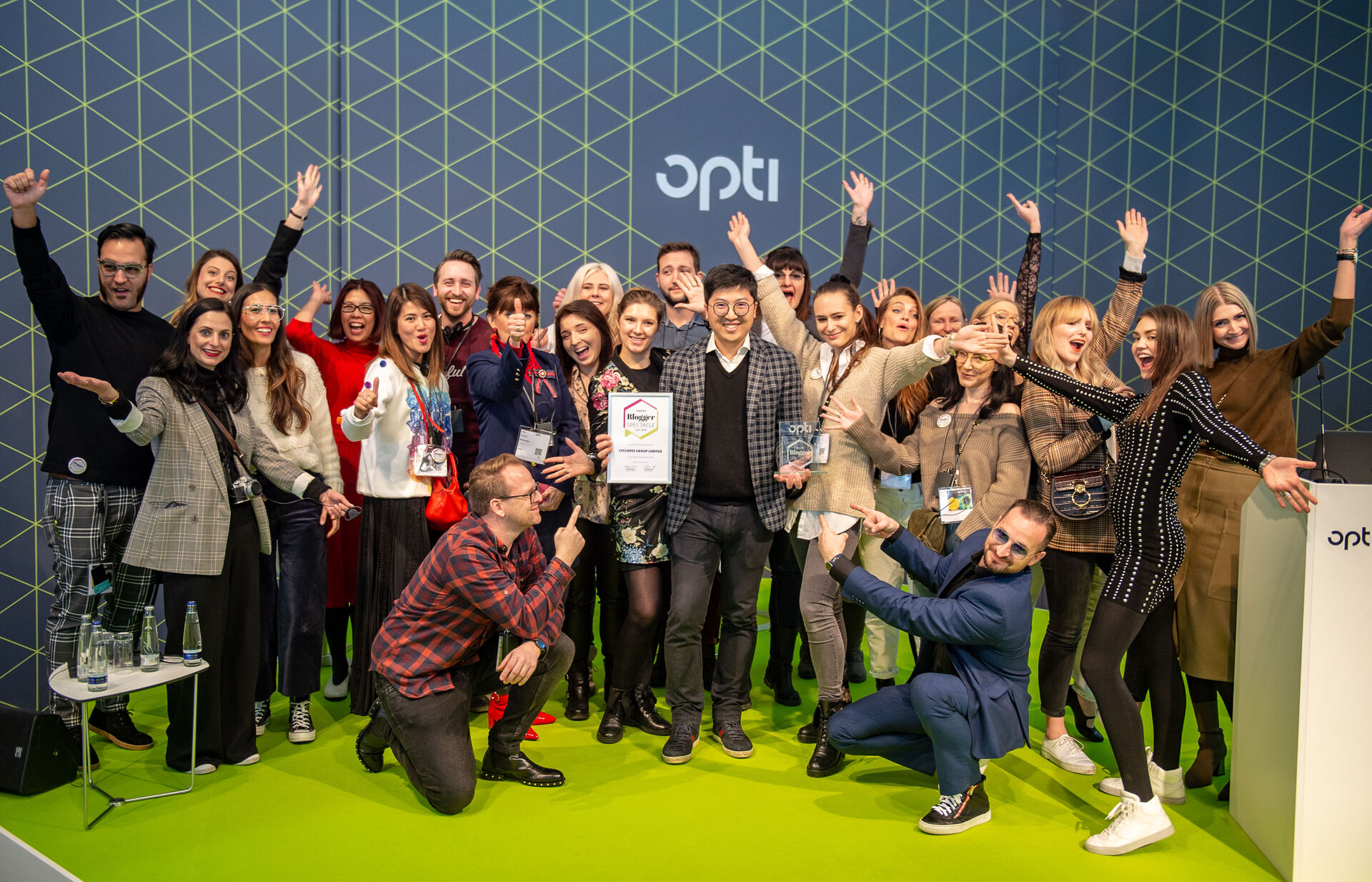 Opti Munich blogger spectacle award 2020