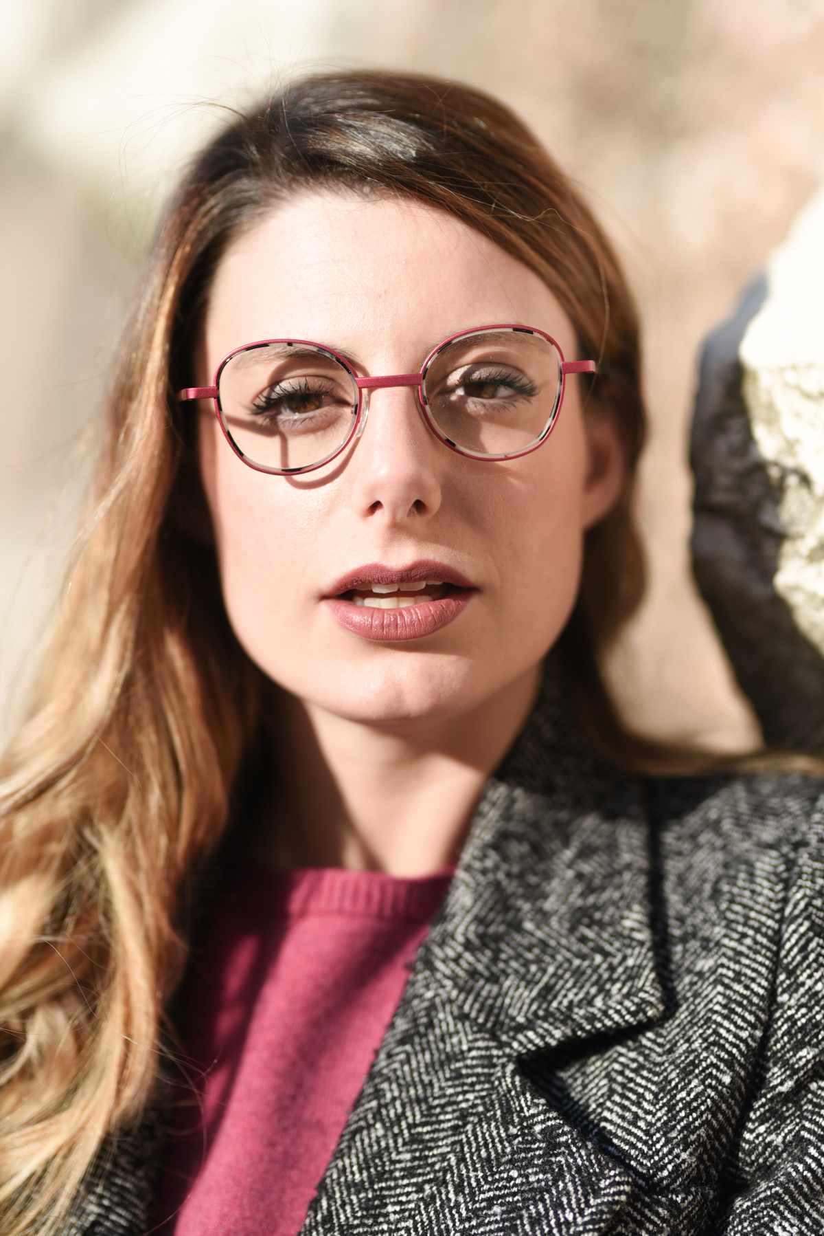 giulia de martin naoned eyeglasses pink 2019 2020 behind my glasses eyewear blogger influencer-9